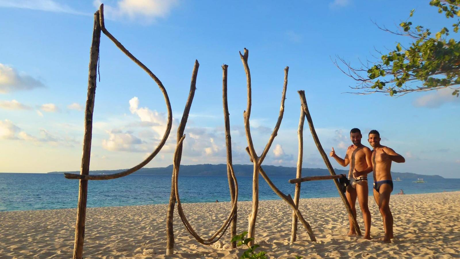 Puka gay beach in Boracay gay guide activities