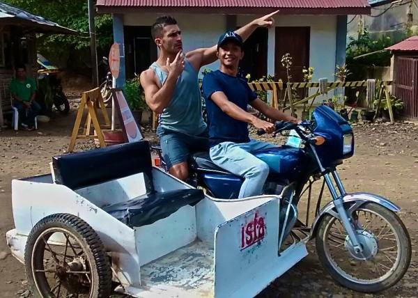 Ryan Stefan tricycle in El Nido, Palawan