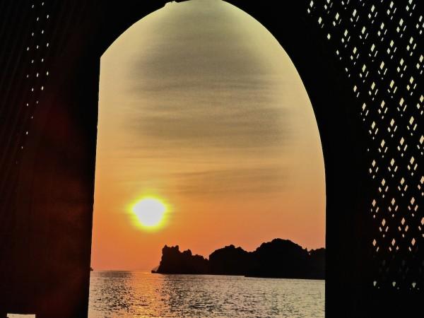 Sunset at Four Seasons Langkawi beach