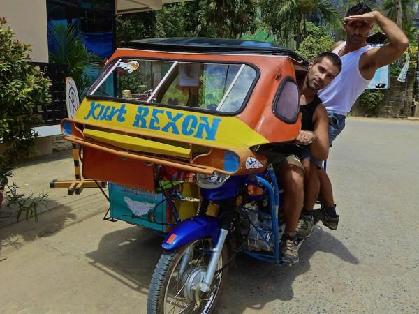 Hijacking tricycle El Nido