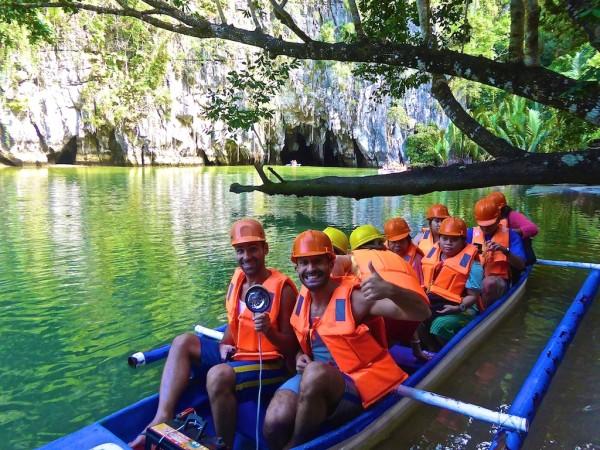 Bangka ride into the Undergound River