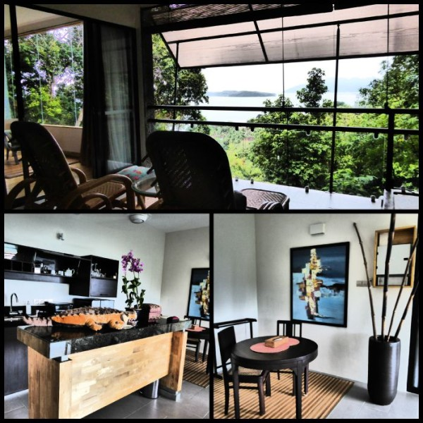 Open plan space at Ambong Ambong, designed to make you feel close to nature