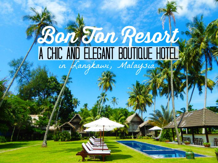 Bon Ton resort: chic and gay friendly boutique hotel in Langkawi