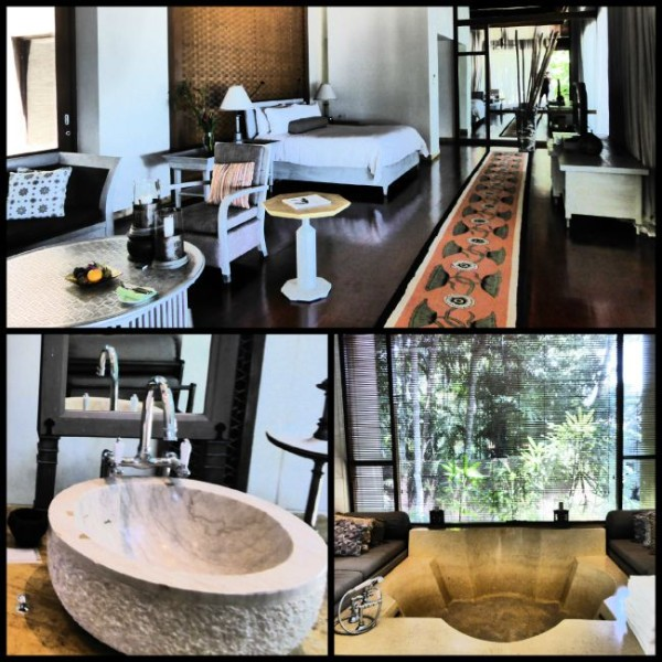 Villa at the four seasons in langkawi with nomadic boys