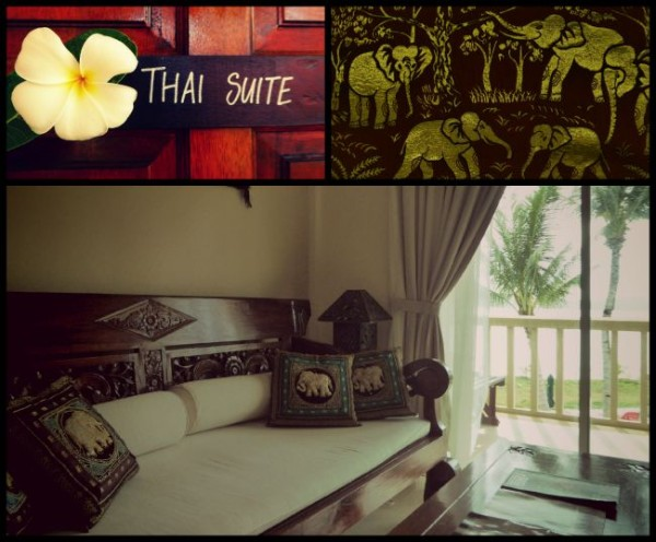 Thai suite at the Frangipani resort in Langkawi