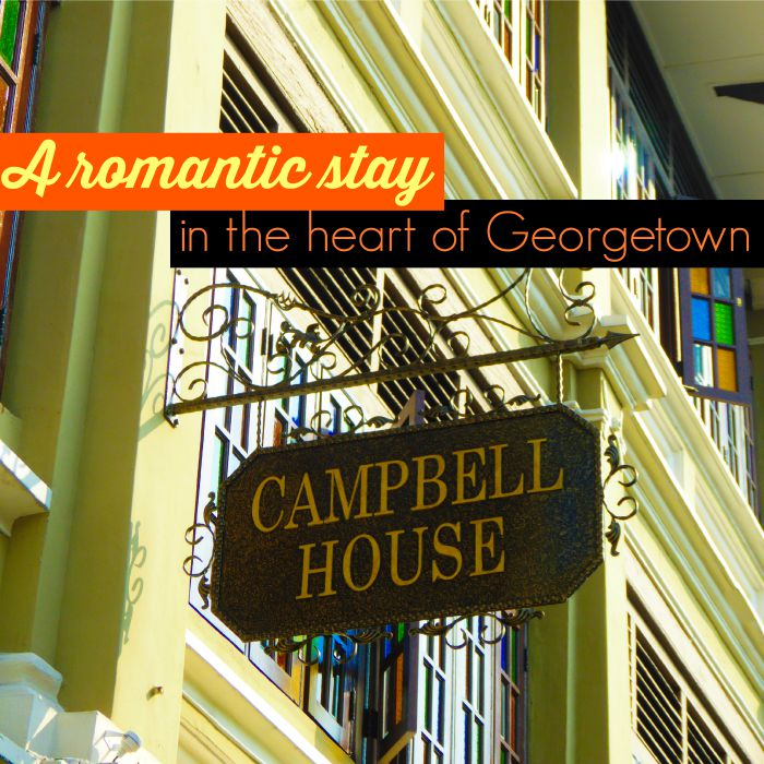 Campbell house romantic stay