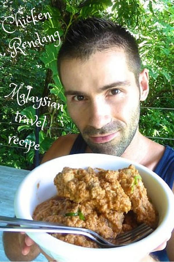 Chicken #rendang #Malaysia travel#recipe