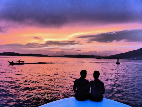 Sunset cruise with gay friendly Damai Indah