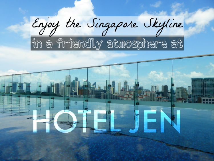 Enjoy the Singapore Skyline at Hotel Jen Orchardgateway
