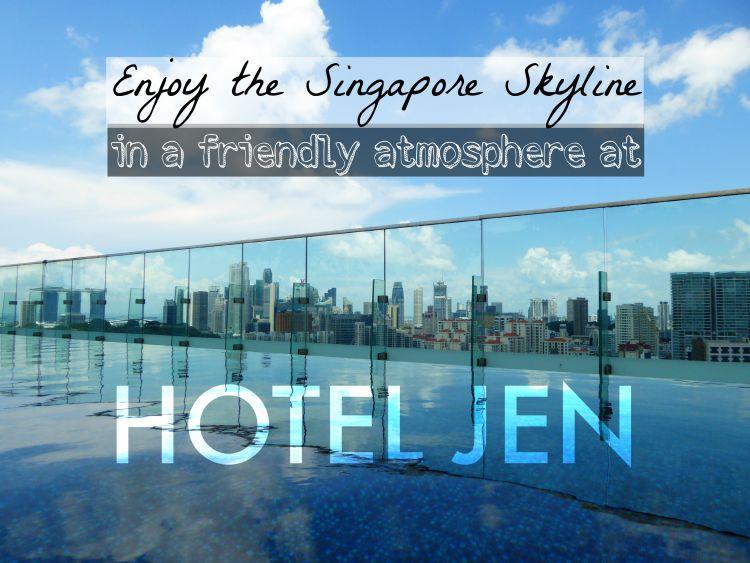 Enjoy the Singapore Skyline at Hotel Jen Orchardgateway