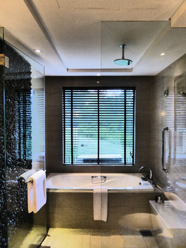 Our bathroom at the Mulu Marriott
