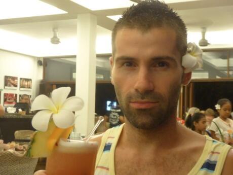 Sebastien discovering the gay scene of Langkawi