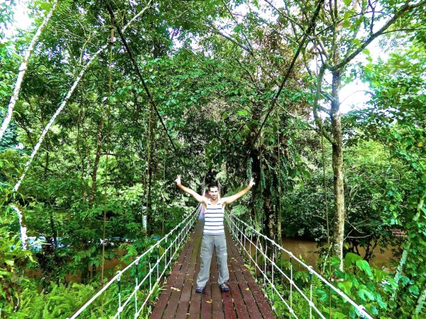 Sebastien at the Mulu National Park