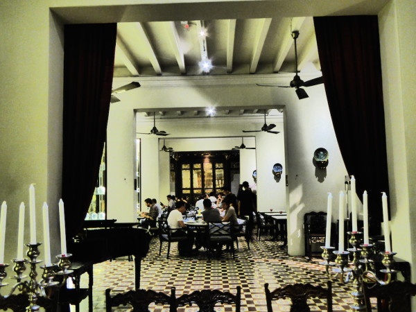 The Kebaya restaurant of Seven Terraces