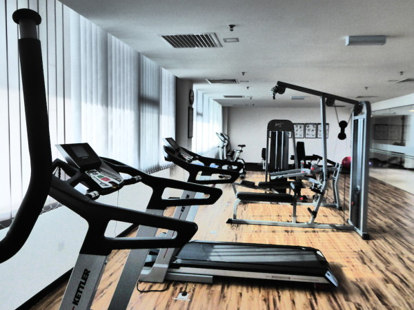 Soluxe Hotel gym