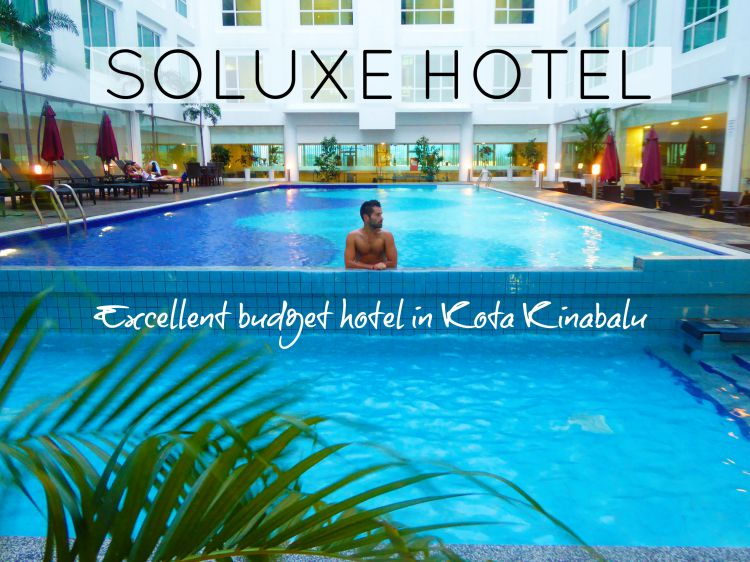 Soluxe Hotel: excellent budget hotel in Kota Kinabalu