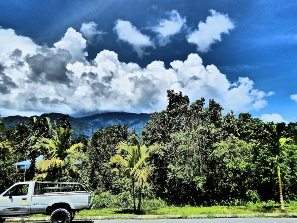The surrounding area of the Mulu Marriott