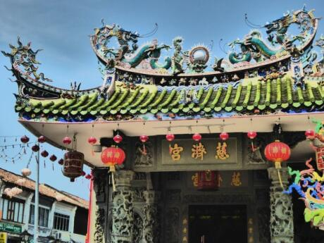 Temple in Georgetown, Penang