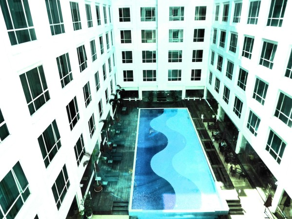 Swimming pool view Soluxe Hotel