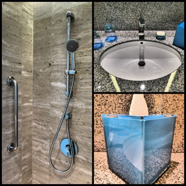 Bathroom in hotel jen orchardgetaway in Singapore
