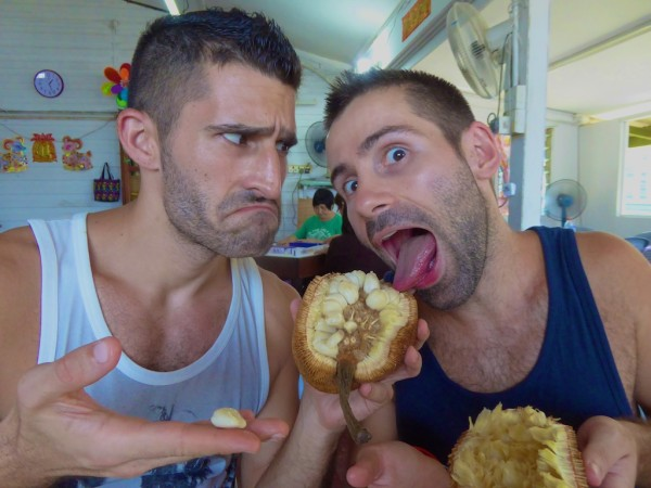 Food fight over tasty tarap fruit