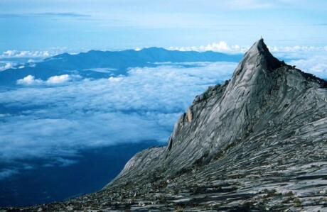 Mount Kinabalu's peak is a very safe hike with incredible views to reward you at the end