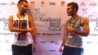 Rainforest World Music Festival Nomadic Boys