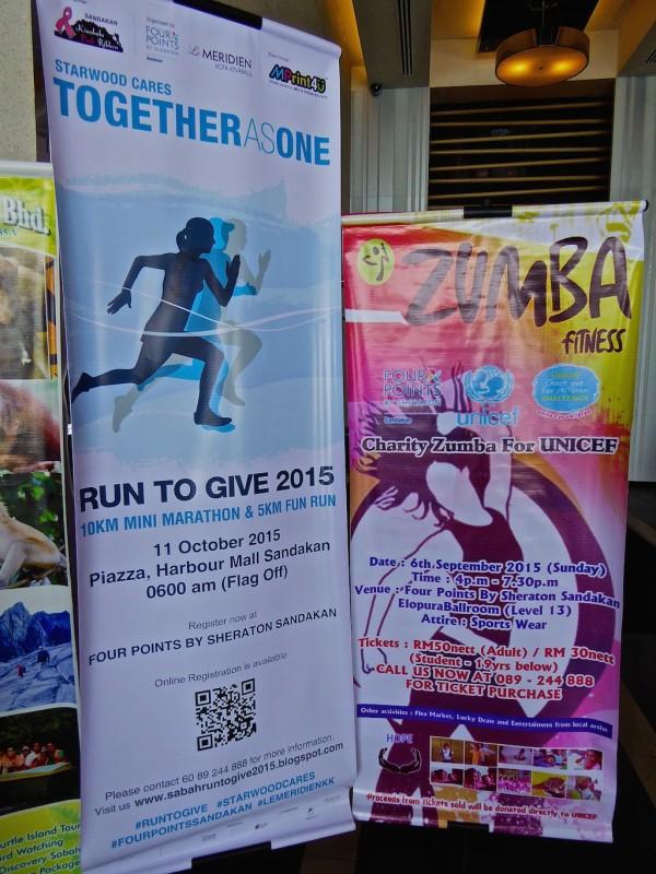 Run To Give Marathon poster