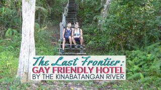 Gay friendly last frontier boutique resort in Kinabatangan river