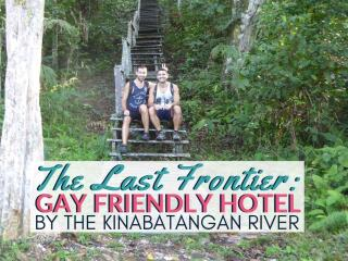 Gay friendly last frontier boutique resort in Kinabatangan river
