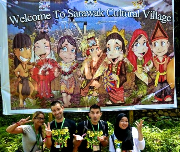 Welcome to The Sarawak Cultural Village