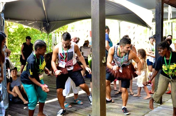 Rainforest World Music Festival Pigmeus congoleses, Ndima