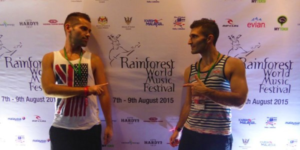 Rainforest World Music Festival gay Kuching