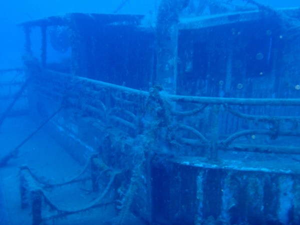 Alexandria wreck diving Larnaka Cyprus