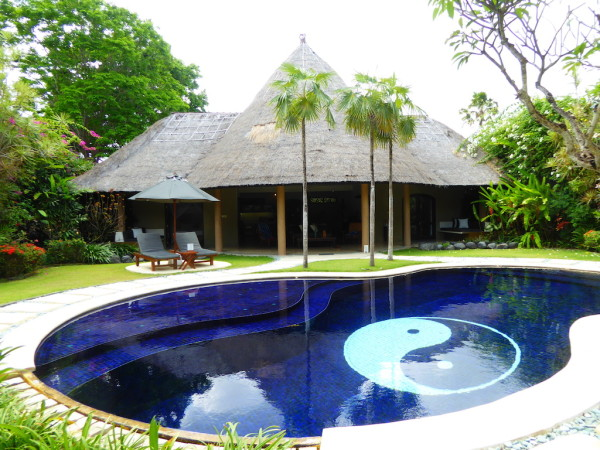 Villa, pool and garden at Villas Bali Hotel in Seminyak