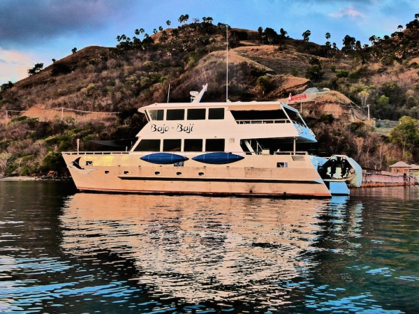 Bajo Baji liveaboard for diving in Komodo National Park, Labuanbajo