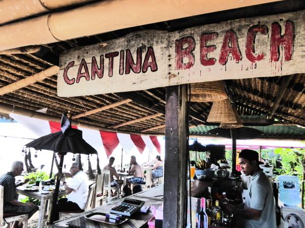Cantina gay beach bar in Seminyak, Bali