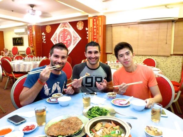 Winner Hotel Cantonese restaurant in Kota Kinabalu, Sabah Malaysia