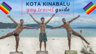 Nomadic Boys gay travel guide to Kota Kinabalu in Borneo