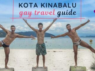 Nomadic Boys gay travel guide to Kota Kinabalu in Borneo