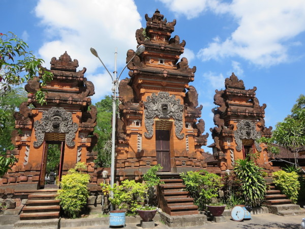 Pura Petitenget Temple near Dusun Villas in Seminyak, Bali
