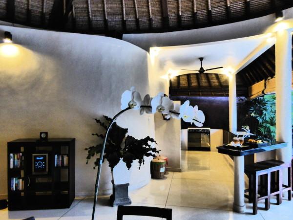 Stereo system in our Dusun Villa in Seminyak, Bali
