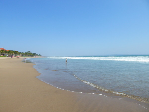 Sunset Beach near Dusun Villas in Seminyak, Bali