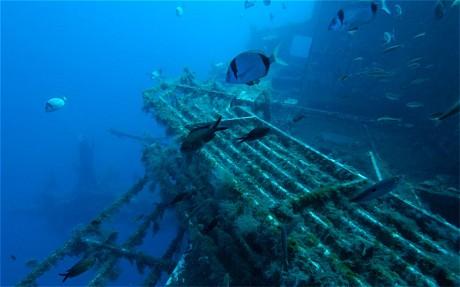 Zenobia wreck diving Larnaka Cyprus