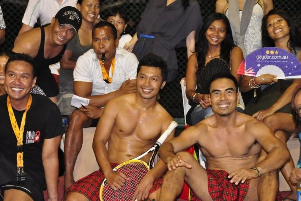 Grand Nikko Bali hosts gay tennis tournament 2012