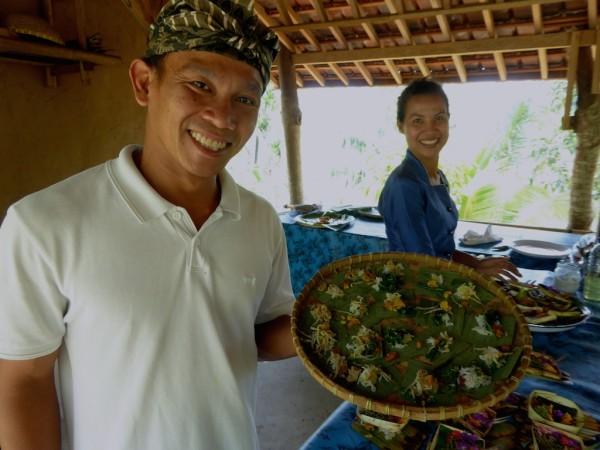 Be Bali Day cooking school in Ubud, Bali