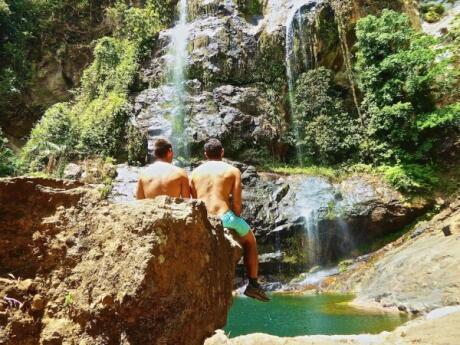 Cunca Rami Waterfall gay guide Flores island