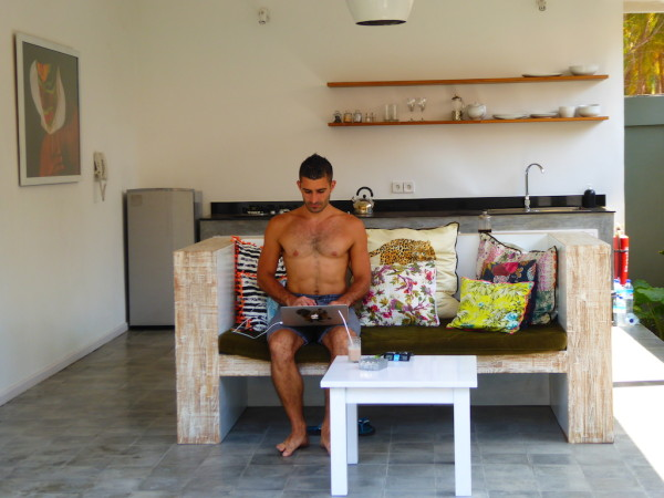 Gay friendly Khumba Villa on Gili Trawangan