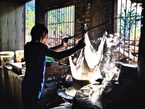 Tofu making Merombok village in our gay guide to Flores island