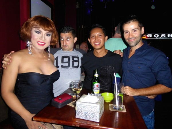 Bali Joe drag queen gay in Indonesia Muslim interview in Seminyak